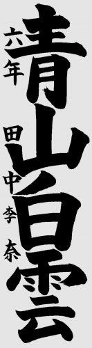11会長賞小6 田中李奈